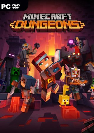 Minecraft Dungeons [v 1.4.3.0 +DLCs] (2020) PC | Пиратка