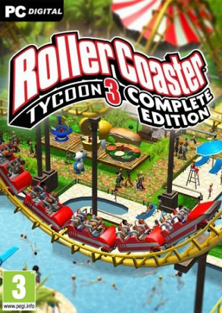 RollerCoaster Tycoon 3: Complete Edition (2020) PC | Лицензия